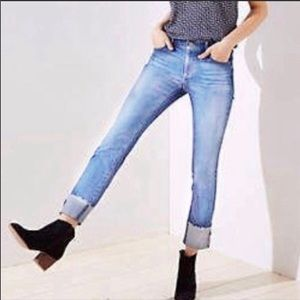 LOFT MODERN SKINNY Rolled Cuff Jean Made and Loved